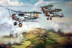 Aviation_artist_JLPC_Baragwanath_Alan_Hindle_painting_Bristol_Bulldog_MkII