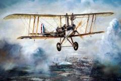 Aviation_artist_JLPC_Baragwanath_Alan_Hindle_painting_Royal_Aircraft_Factory_Be2