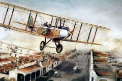 Aviation_artist_JLPC_Baragwanath_Alan_Hindle_painting_de_Havilland_DH9