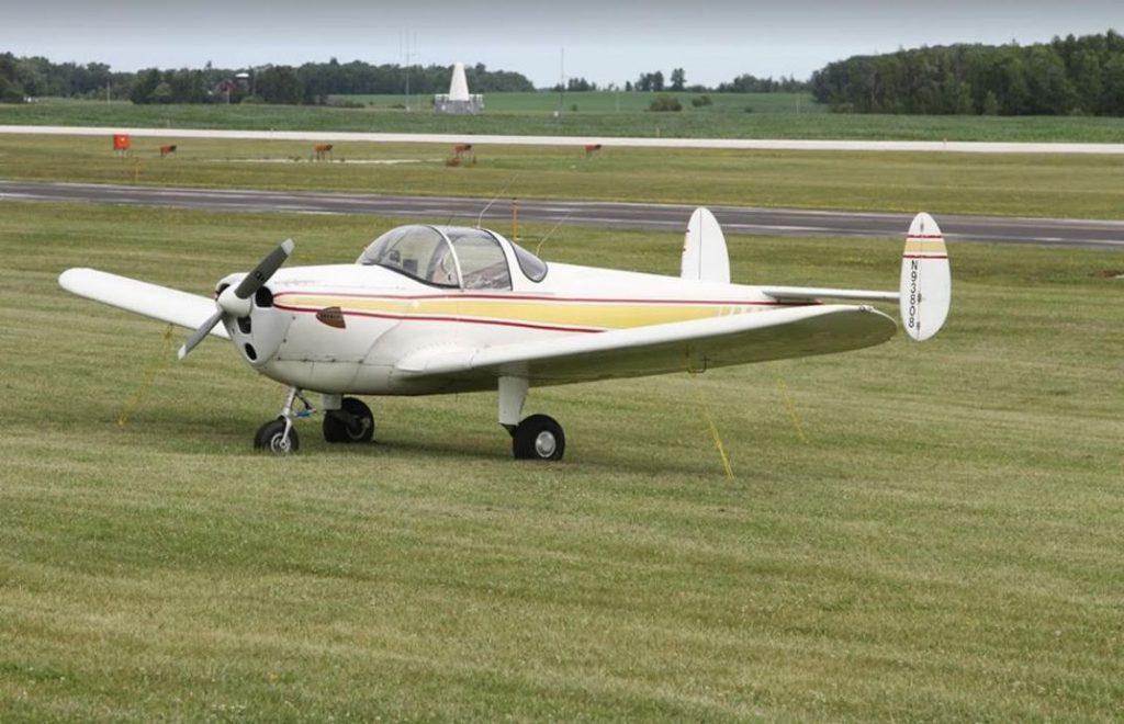 Terry Fisher and the Ercoupe