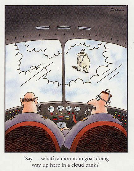 Goat in Clouds